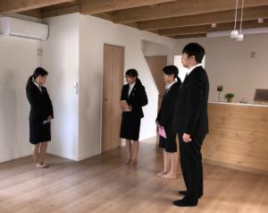 新入社員と新築